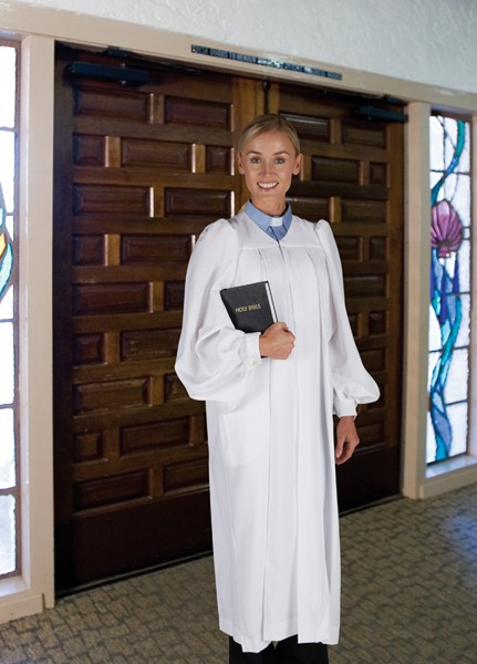 Women's White Clergy Robes