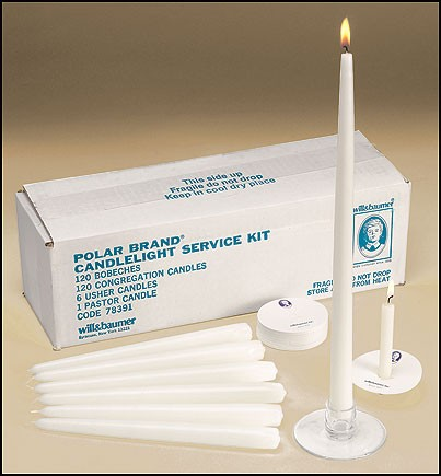 120 Candlelight Service Kit