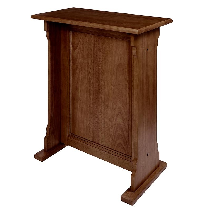 Abbey Collection Church Credence Table - Walnut