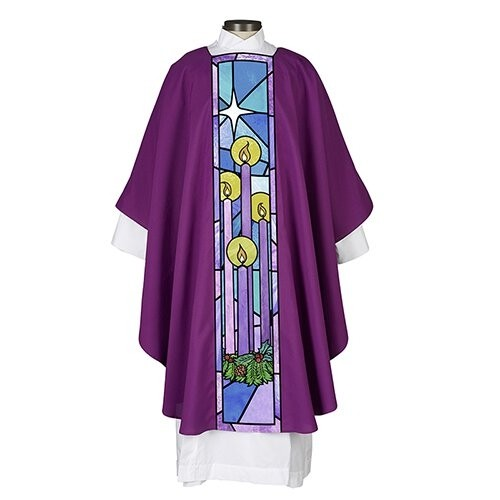 Advent Clergy Chasuble