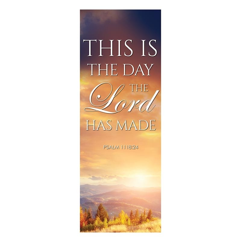 Autumn Landscapes Series Church Banners - This Is the Day the Lord Has Made