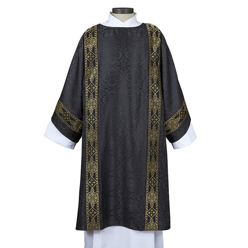 Avignon Collection Black Deacon Dalmatic