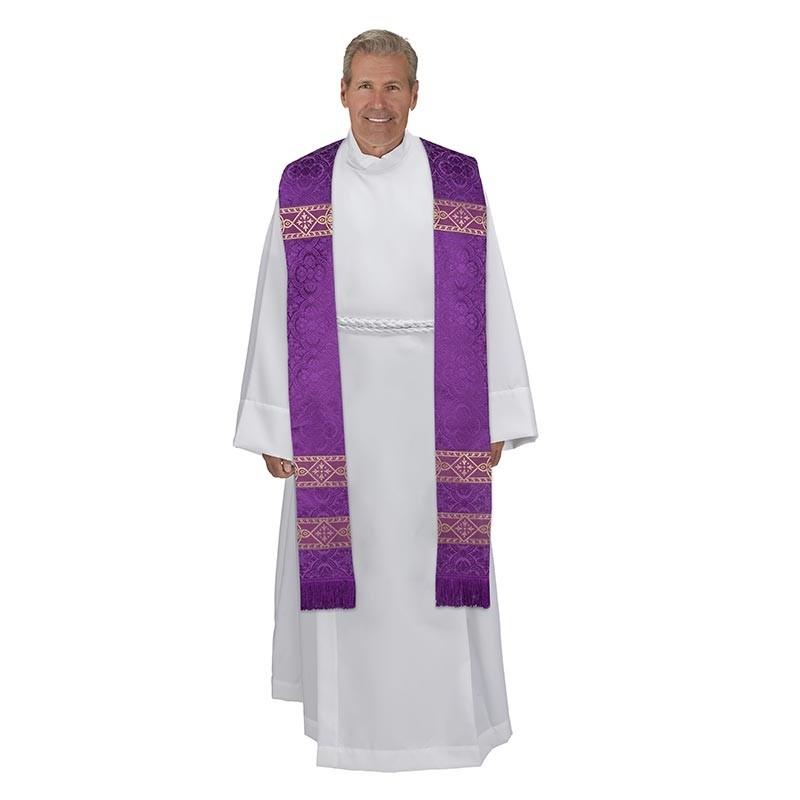 Avignon Collection Purple Clergy Stole