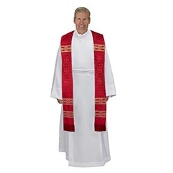 Avignon Collection Red Clergy Stole