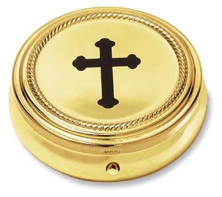 Budded Cross Communion Pyx