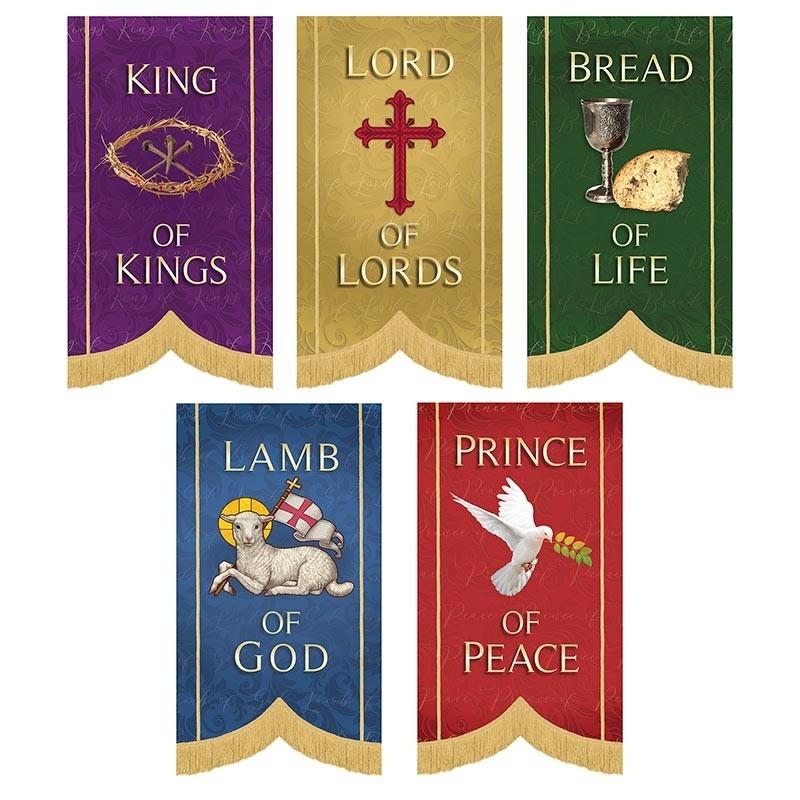 Call Him By Name Series Church Banner Set