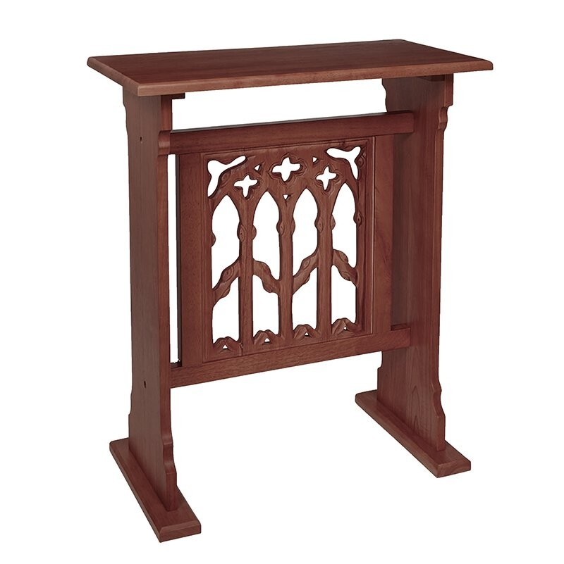 Canterbury Collection Church Credence Table - Walnut