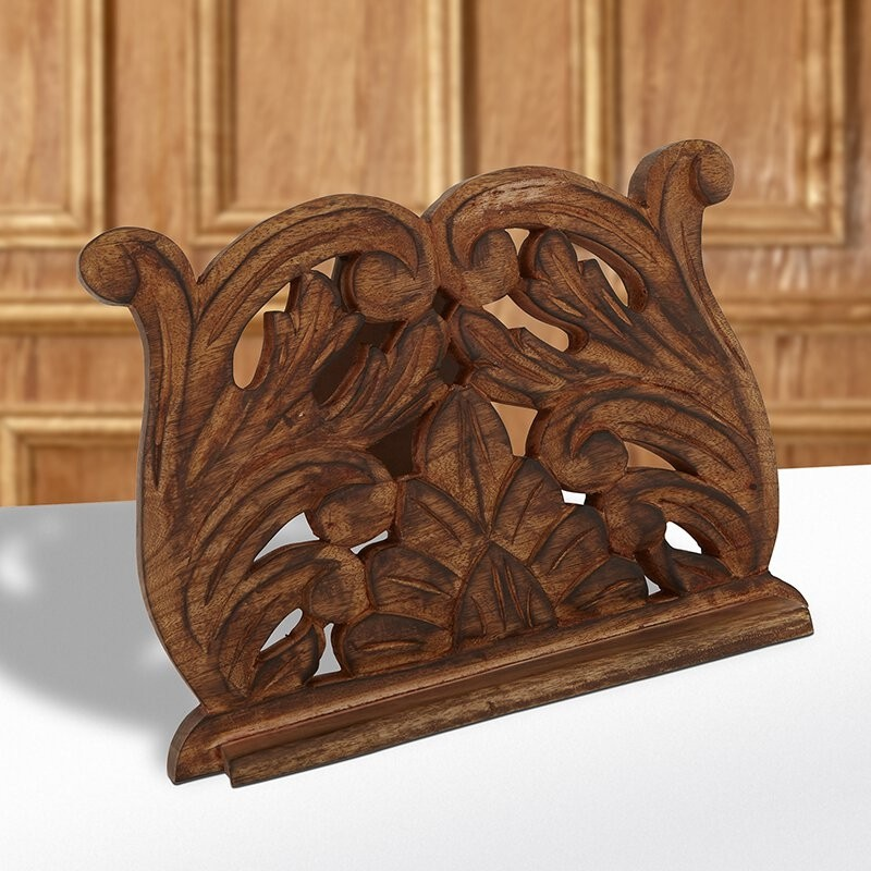 Carved Bible or Prayer Book Stand