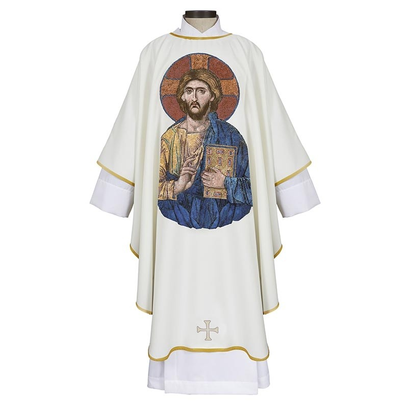 Christ Pantocrator Chasuble in Color