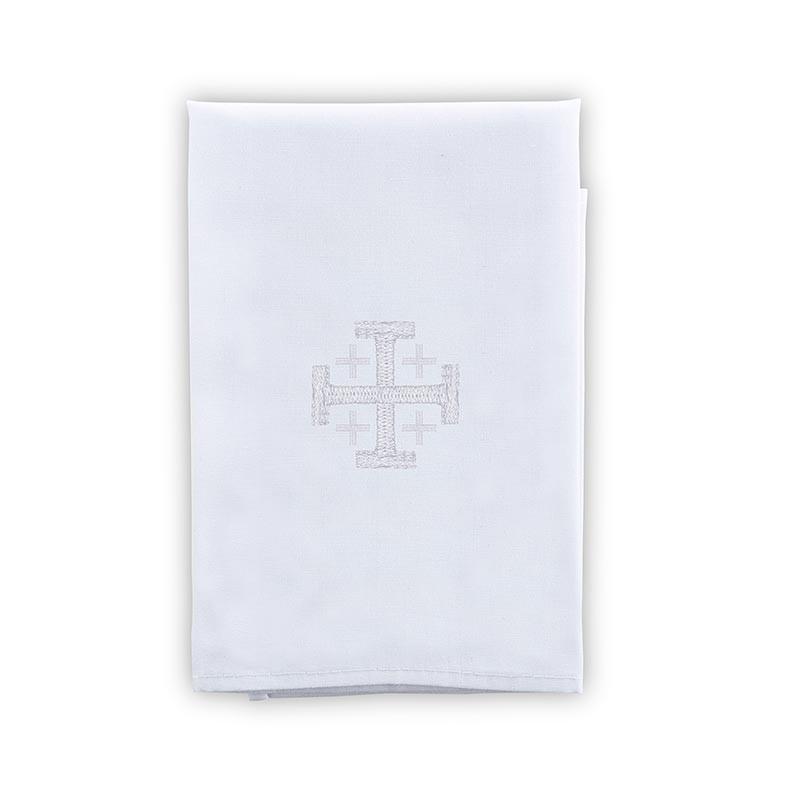 100% Cotton Jerusalem Cross Purificator