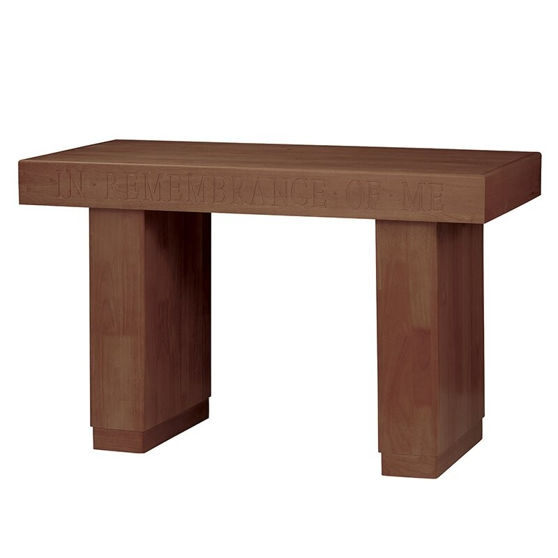 Communion Table In Remembrance- Walnut