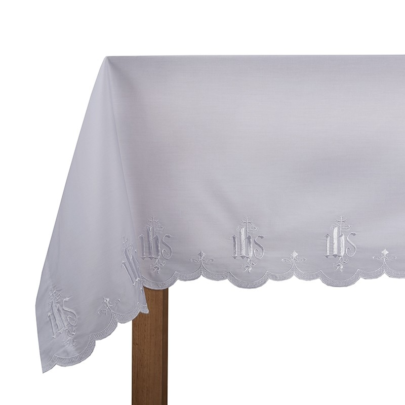 Embroidered IHS Church Altar Frontal