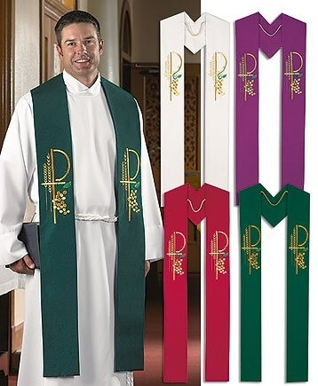 Eucharistic Collection Clergy Overlay Stoles