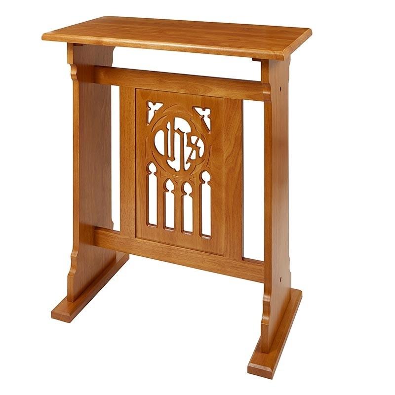 Florentine Collection Church Credence Table - Medium Oak