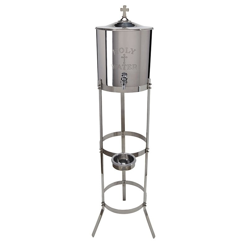 Holy Water Receptacle with Stand
