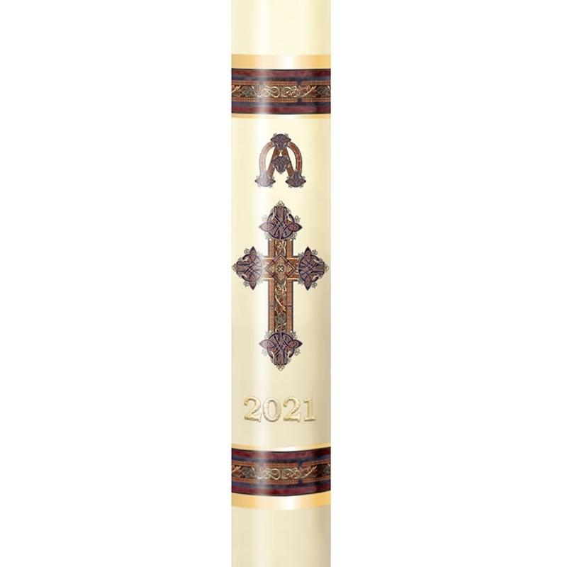 Kells Cross Paschal Candle