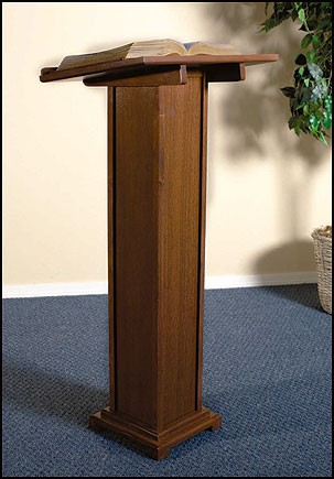 Church Altar Lectern in Maple