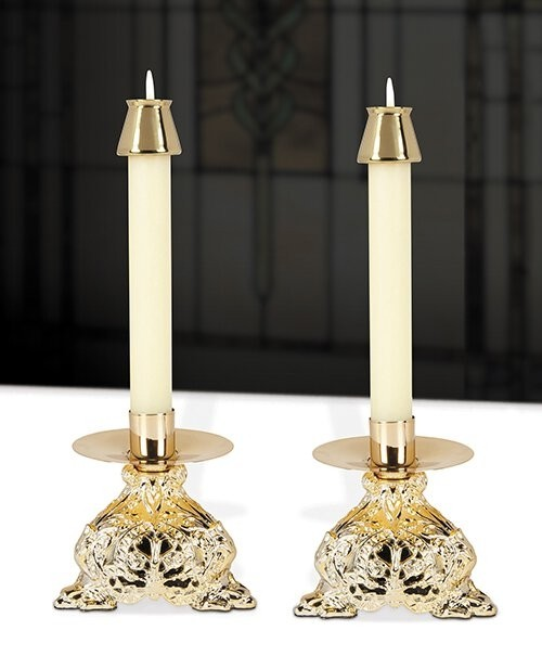 Ornamented Altar Candlestick