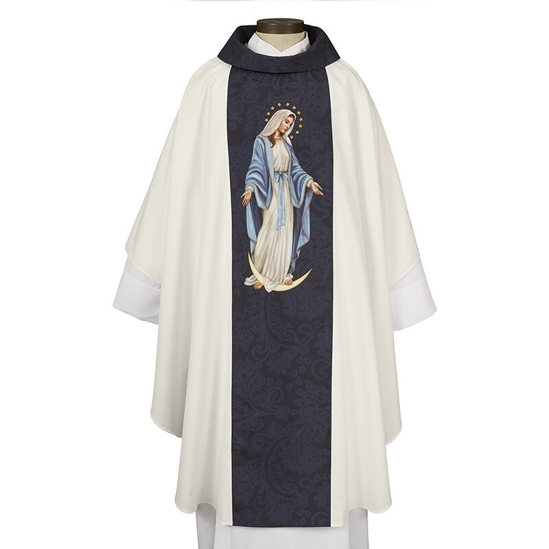 Our Lady of Grace Clergy Chasuble