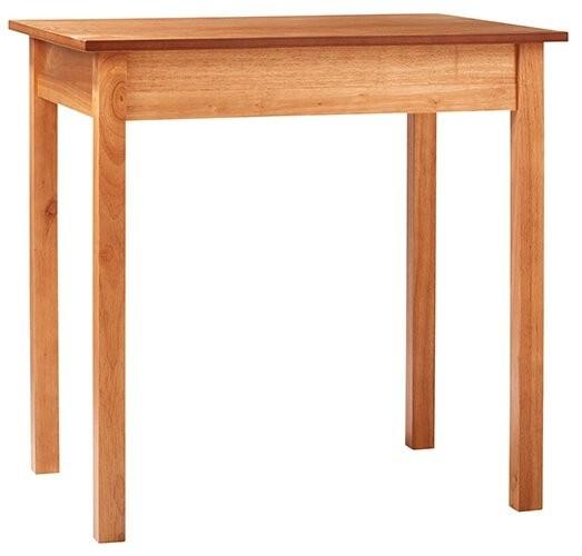 Plain Communion Table - Pecan