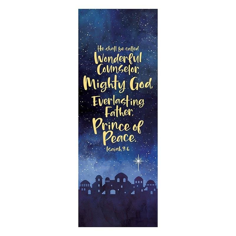 Prince of Peace Christmas Church Banner