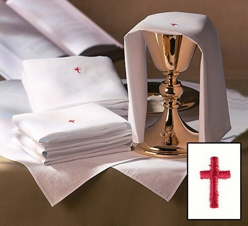 Red Cross Lavabo Towels