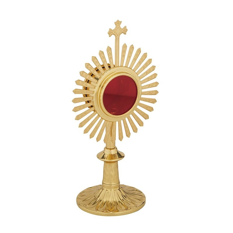 Reliquary with Rays and Cross