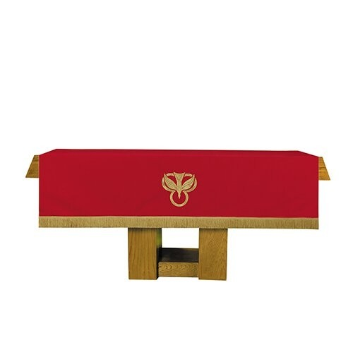 Reversible Altar Frontal Red and White