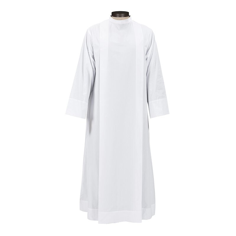 Roll Collar Clergy Alb