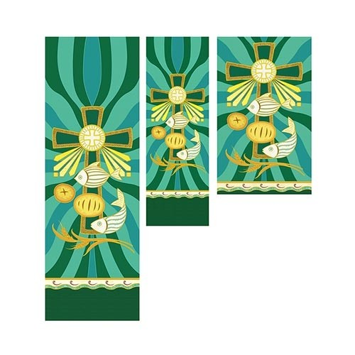 Tapestry Series Loaves and Fishes Church Banner