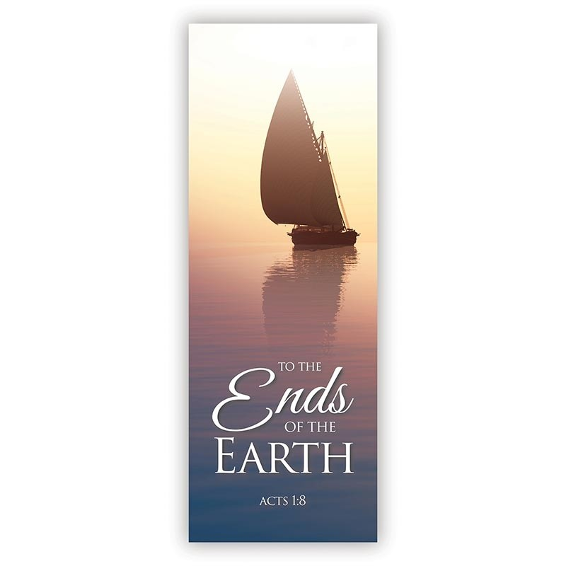 To the Ends of the Earth Church Banner