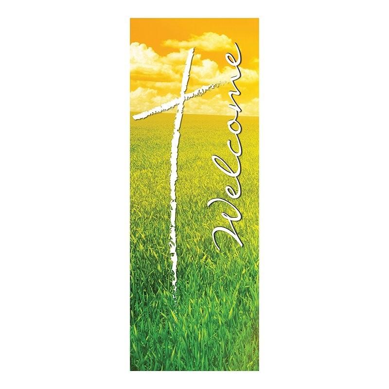 Welcome Series Summer Church Banner