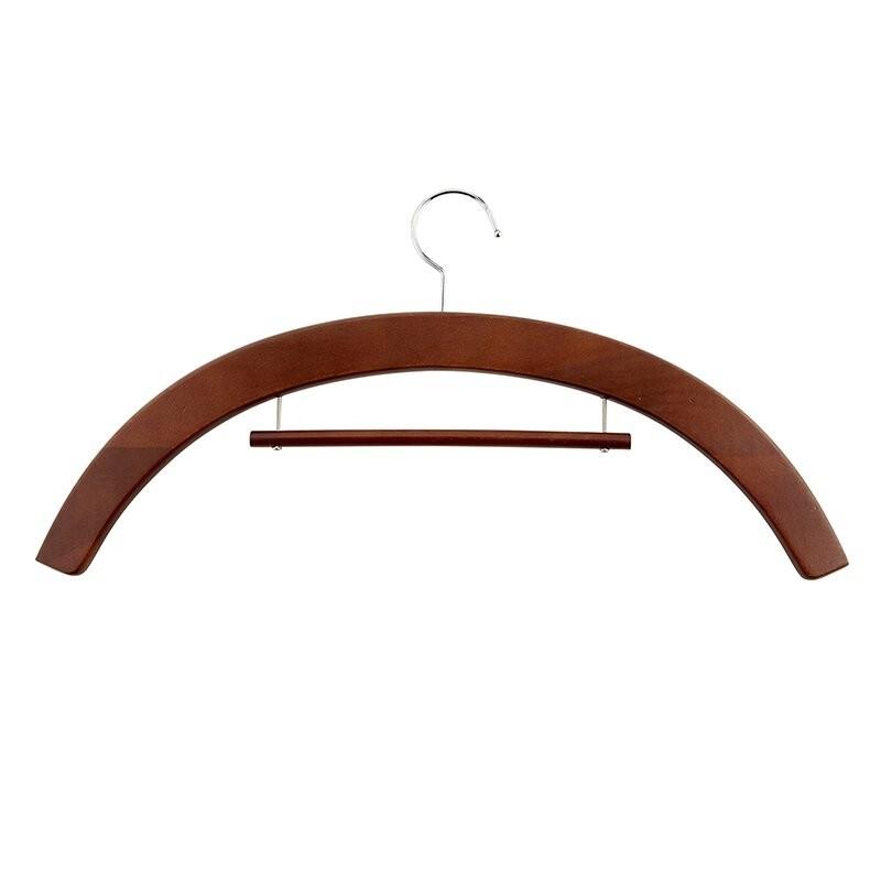 Wood Clergy Robe Hangers - Walnut
