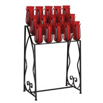 15 Light Church Votive Stand with Prongs