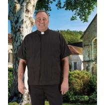 Panama Clergy Shirt Short Sleeve