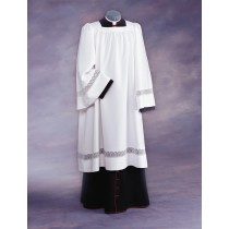 Lace Liturgical Clergy Surplice