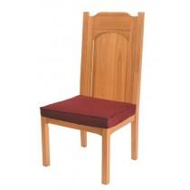 Abbey Collection Church Altar Side Chair - Medium Oak Stain