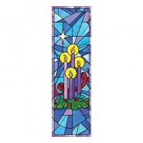 Advent Wreath Church Banner