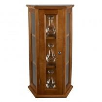 Ambry Display Cabinet - Medium Oak