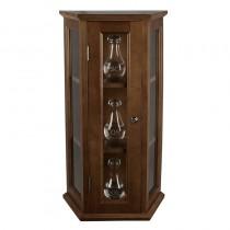 Ambry Display Cabinet - Walnut