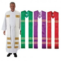 Avignon Collection Clergy Stoles Set of 4