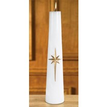 Christ Candle Tapered Christmas Bright Morning Star