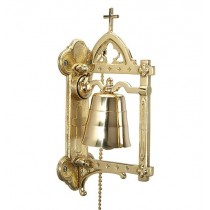 Budded Wall Church Altar Bell