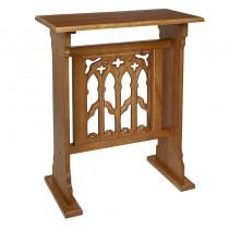 Canterbury Collection Church Credence Table - Medium Oak