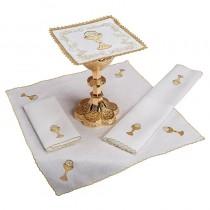 Chalice & Host Altar Linen Gift Set