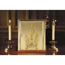 Chalice & Host Brass Tabernacle