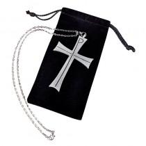Chi Rho Clergy Pectoral Cross