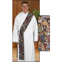 Children of the World Tapestry Deacon Stole