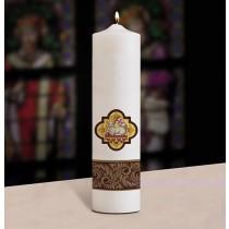 Christ Candle, Pillar, Agnus Dei