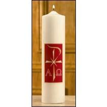 Christ Candle - Alpha Omega